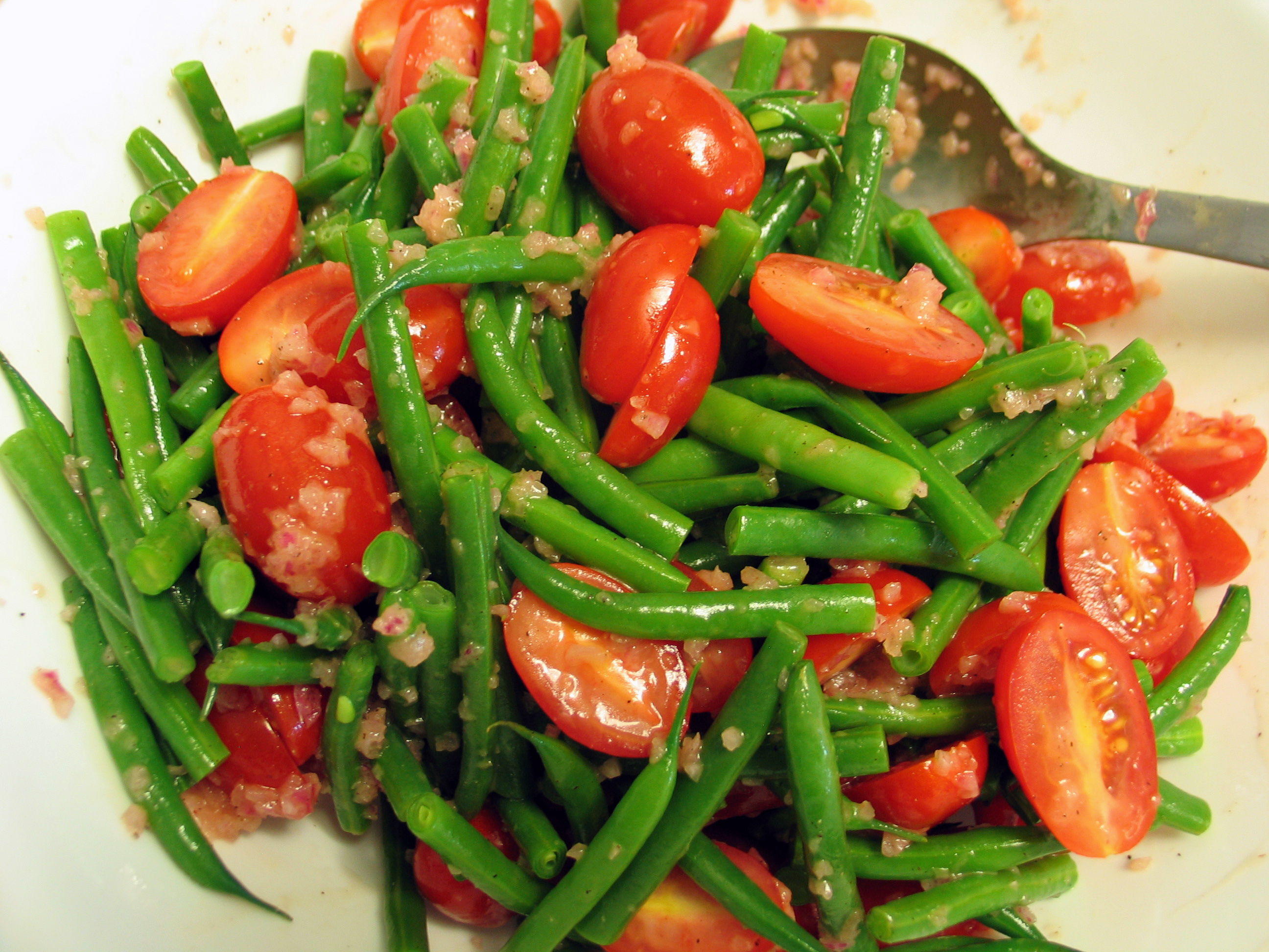 Deanna's Daughter | Green Bean and Cherry Tomato Salad