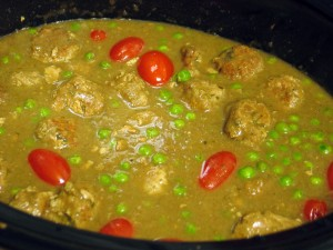 Turkey Meatball Korma (Slow Cooker)