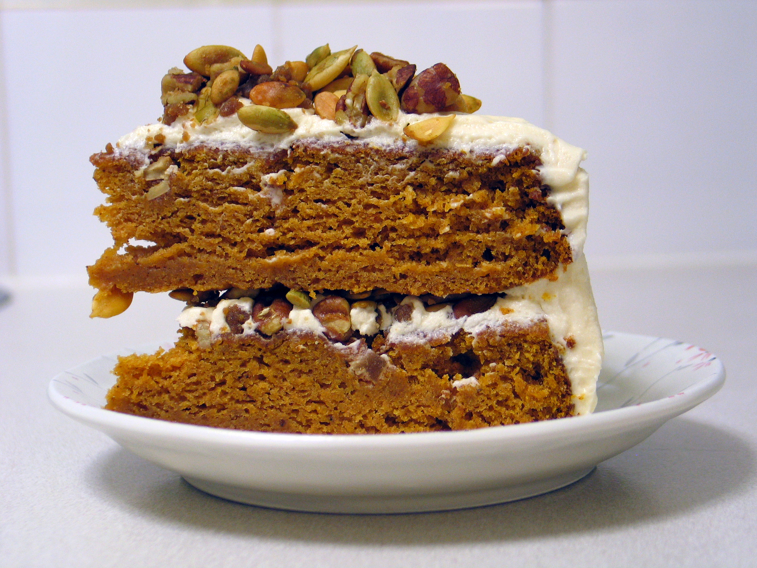 Deanna's Daughter | Brown Butter Pumpkin Layer Cake