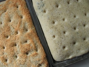 Focaccia (Thyme and Parmesan)