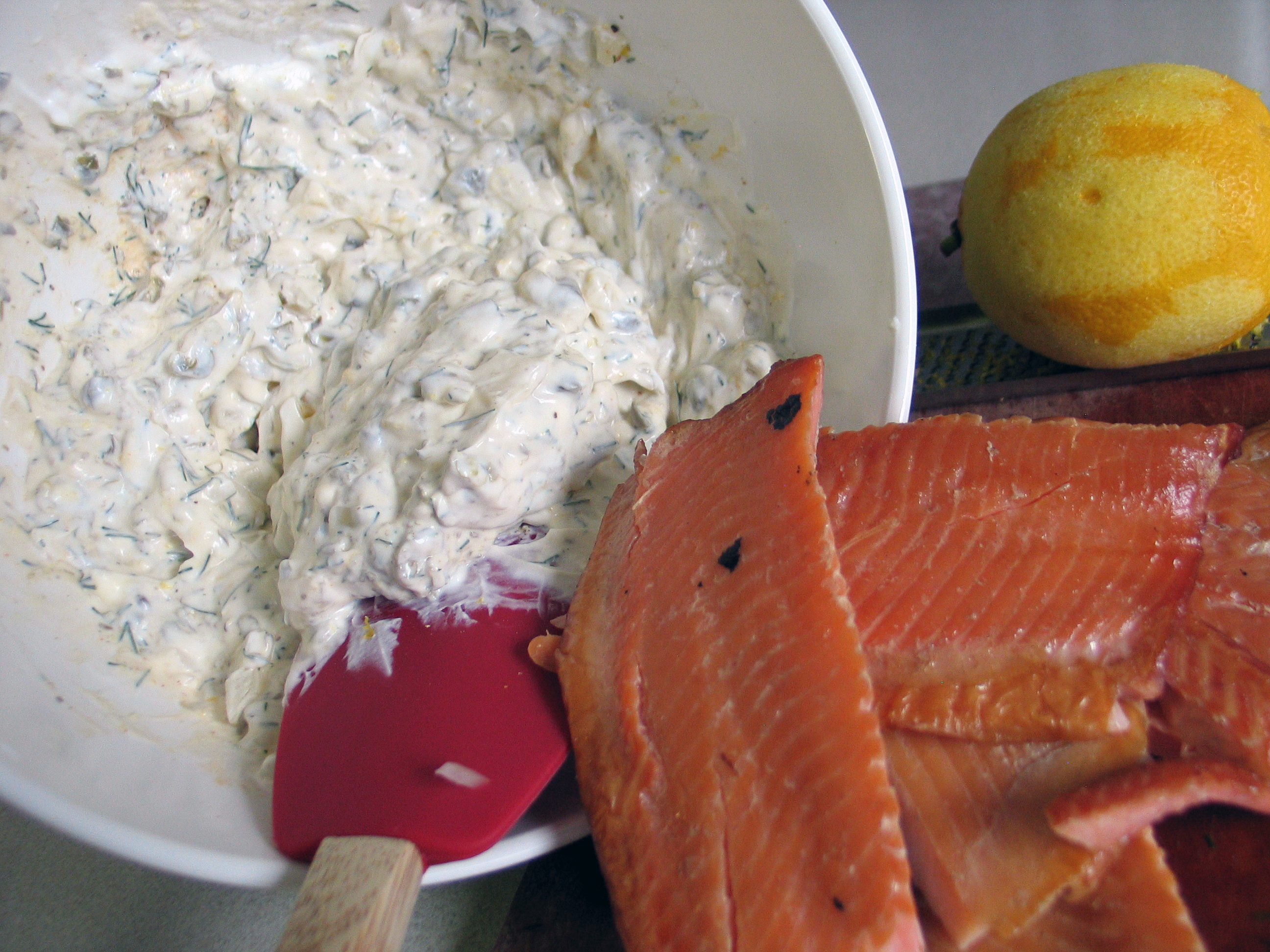 Smoked Trout Dip (& Brock's Smoked Trout)