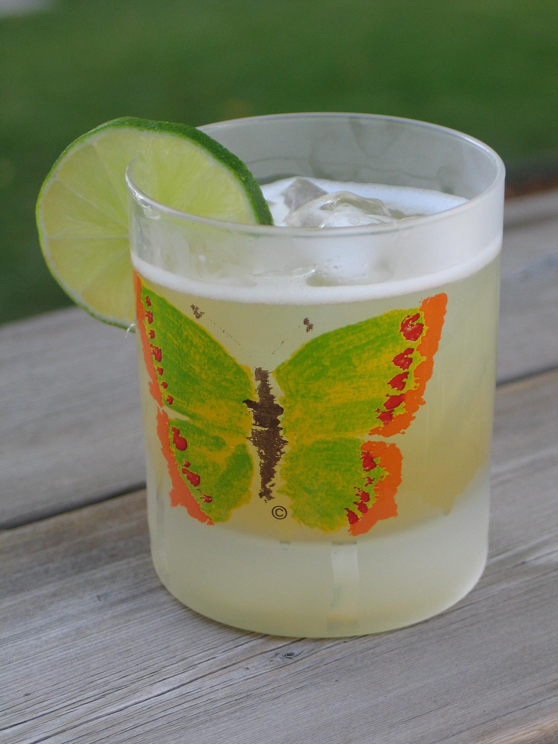 Jalapeno Tequila Gimlet Recipe — Dishmaps