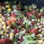 Corn and Black-Eyed Pea Dip