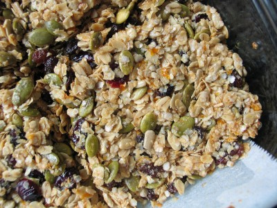Granola Bars (Seeds, Quinoa and Orange)